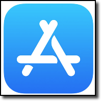 iOS App Store Icon on your mobile device