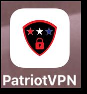 Patriot VPN iOS app icon